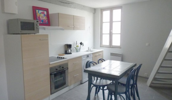 Furnished renting - Duplex - st-jean-d-angely