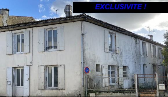 Bien à vendre - Ensemble de 2 maisons - st-jean-d-angely